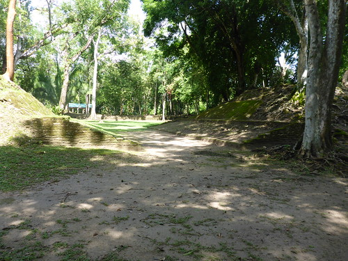 Ballcourt, Cahal Pech, San Ignacio, Belize