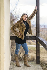 Mandy January 04 (PKub) Tags: beige black blau blue boots fenster haare hair jacke jacket jeans model photography pkub pkubimagesgmailcom photoshooting pkubimages schuhe schwarz shoes stiefel window beautiful blondhair blondeshaar people schoen