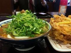 Curry udon from Marugame Seimen @ Roppongi (Fuyuhiko) Tags: curry udon from marugame seimen roppongi 丸亀製麺 六本木ティーキューブ店 六本木 カレー うどん 東京 tokyo