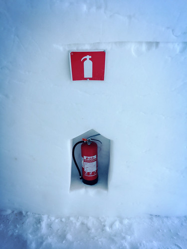 Aware of Fire @ Ice Hotel