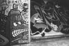 Back in My Day (Georgie_grrl) Tags: graffiti streetart creative expression graffitialley pentaxk1000 rikenon12828mm toronto ontario blackandwhite monochrome jchstreetpan400 torontophotowalks photographers social outing topw2017rs