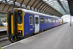 Northern Super Sprinter 153332 (Will Swain) Tags: hull paragon interchange 25th february 2017 north east yorkshire train trains rail railway railways transport travel uk britain vehicle vehicles country england english station city arriva group northern super sprinter 153332 class 153 332