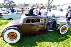 HotRod coupe (bballchico) Tags: hotrod 5window coupe chopped hotrodshop saturdaydrivein grandnationalroadstershow gnrs2017 carshow
