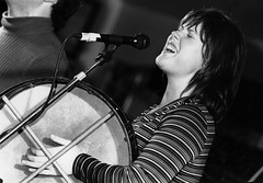 Lucy MacNeil (The Barra MacNeils) – The Grand Ceilidh – 10/18/97 (photo: Grant Young)