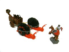 Snail Chariot (Cab ~) Tags: lom tourney foitsop lego moc medieval chariot snail