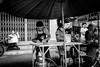 Street Vendors | Bangkok 2016 (Johnragai-Moment Catcher) Tags: people photography street streetphotography blackandwhite blackwhite bangkokstreet momentcatcher monocrome bw johnragaiphotos johnragai johnragaibw johnragaistreet flickr omdem1 omdsp olympus