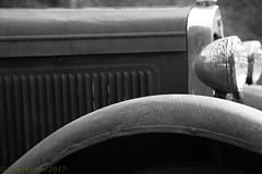 Ford Fender (Dex Horton Photography) Tags: drdavis ford fender truck abandoned history oralhistory backroads vermont washingtonstate headlights lamp grill rust chrome