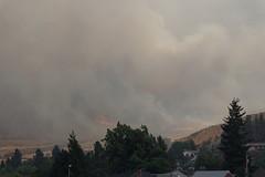 Wall of Smoke (benagain_photos) Tags: washington butte wa fires chelan wildfires reachfire chelancomplex