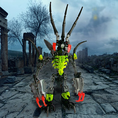 Lortch (See Music) Tags: wildlife g2 bionicle moc okoto combiner nescent