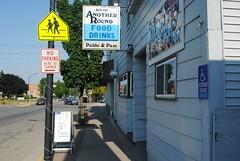 Another Round Bar, Pulaski Wisconsin (Cragin Spring) Tags: street food usa building sign wisconsin bar rural unitedstates unitedstatesofamerica drinks tavern wi smalltown pulaski pulaskiwisconsin pulaskiwi anotherroundbar