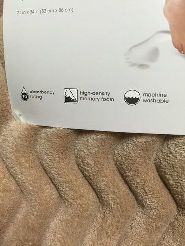 宅配好物_【生活體驗】購自HOLA特力和樂購物網超舒壓的Microdry 3D波紋記憶棉地墊53x86 亞麻&甜蜜中帶著優雅清香的Lune de Miel法國香榭柑橘花蜜~ 民生資訊分享
