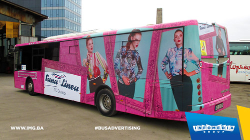 Info Media Group - Sana Linea, BUS Outdoor Advertising, Banja Luka 08-2015 (5)