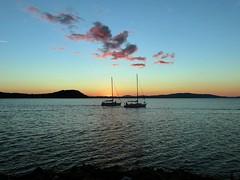 Barche all'alba (giorgiorodano46) Tags: mare alba barche toscana talamone pescherecci ottobre2014 mareallalba