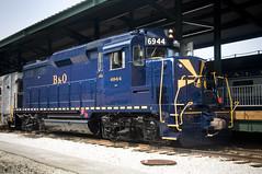 B&O Diesel Engine No. 6944 GM EMD GP30 (B&O Railroad Museum) Tags: no6944 diesel restoration
