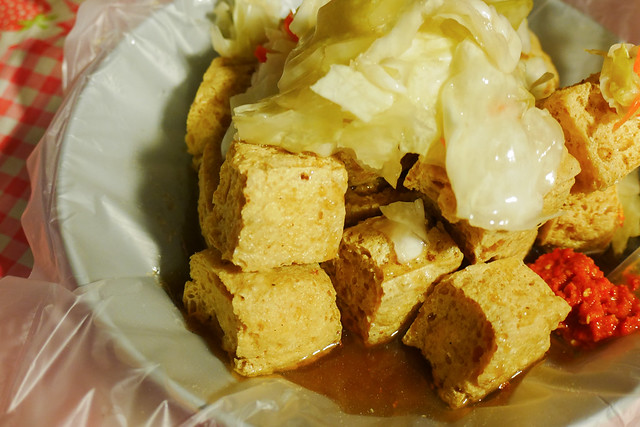 新北 板橋–人氣酥脆臭豆腐–南雅夜市好味道臭豆腐