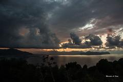 Clouds (M@Riforever) Tags: montagne t tramonto nuvole mare scat cielo palermo golfo ando temporale paese vegetazione altitudine