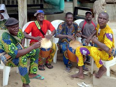 Ganvie Drummers