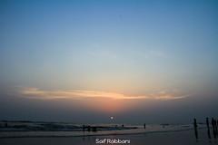 Sunset at Cox's Bazaar, Bangladesh (Saif Rabbani) Tags: sunset sea sky beach bazaar longest bangladesh coxs
