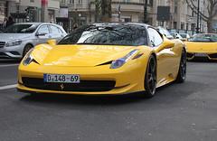 Germany Diplomatic (UAE) - Ferrari 458 Italia Novitec Rosso (PrincepsLS) Tags: berlin germany italia uae plate ferrari german license rosso spotting diplomatic 458 148 novitec