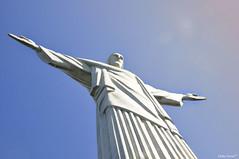 Corcovado, Rio de Janeiro, Brésil (Cathy'c) Tags: voyage panorama rio de pain janeiro christ corcovado pao açucar plage sucre brésil