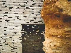 Granada-Nazari-Wall-9 (hotcommodity) Tags: bricks granada urbanlandscape landscapearchitecture patterning contemporarydesign antoniojimneztorrecillas lightthroughbricks nazariwall