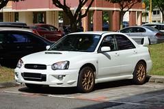 Subaru Impreza TS (nighteye) Tags: car singapore subaru impreza ts