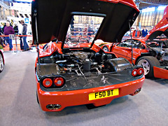 Ferrari F50 (Harry3099) Tags: nec classic motor show cars car supercar super supercars sport sports sportscar sportscars vintage fast slow engine wheels wheel new old tyre exhaust exhausts tyres indoor ride rides ferrari laferrari enzo f50 f40 288 gto v12 v8 twin turbo owners owner club hybrid hypercar hypercars hyper worldcars