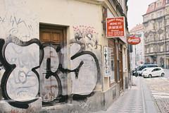 Hong Fu (a l e x . k) Tags: film czech prague pentax scrawl mx fa43mmf19