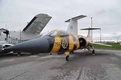 Lockheed CF-104D Starfighter (orange27) Tags: ontario canada aircraft hamilton northamerica canadianwarplaneheritagemuseum lockheedf104starfighter f104starfighter interceptoraircraft