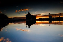 Double to history/ reverse photography (VarskvlaviTR) Tags: blue sunset cloud sun reflection building history water canon turkey landscape photography tokina rise edirne 1116 70d asperical canon70d
