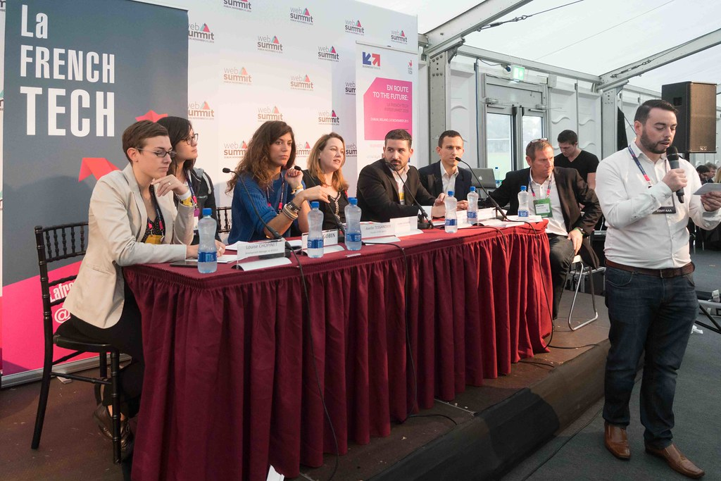 TODAY AT THE WEB SUMMIT THERE WAS A PRESS CONFERENCE HOSTED BY AXELLE LEMAIRE [FRENCH MINISTER RESPONSIBLE FOR DIGITAL AFFAIRS]-109922