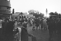 Jemaa el-fna (Alexander Head) Tags: market marrakech konica af hexar jemaa elfna