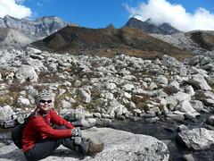 Glacier field (LeelooDallas) Tags: nepal mountain trek landscape nikon asia amp dana coolpix himalaya everest s9100 iwachow bsae