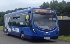 First Midland Bluebird SN64 CKU - 47614 (S925 AKS) Tags: road 3 bus wheel first wright bluebird lime midland psv falkirk tamfourhill streetlite 47614 sn64cku