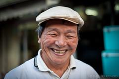 007 : 100 Strangers (Daisuke Kondo) Tags: portrait man japan project butcher shikoku  kochi flatcap        100strangers
