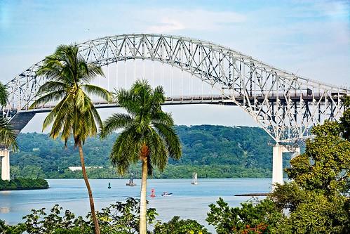 Bridge of the Americas OR Puente de las Américas OR Thatcher Ferry Bridge - Panama 11