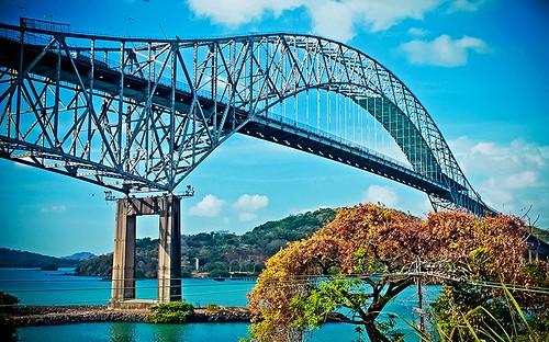 Bridge of the Americas OR Puente de las Américas OR Thatcher Ferry Bridge - Panama 05