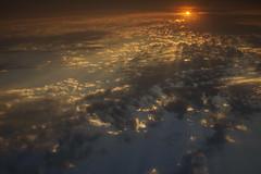 Divine (Juan Gabriel Escobedo Robles) Tags: sky sunset day nature clouds landscape orange blue sun amazing