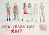 Practicing People (lwdphoto) Tags: lance duffin lanceduffin watercolor painting art drawing sketching people figures newyears
