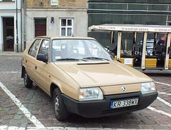 Škoda Favorit 136L (peterolthof) Tags: kraków peterolthof škoda favorit
