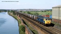 16/05/1989 - Kilnhurst Central, South Yorkshire. (53A Models) Tags: britishrail class56 56082 diesel freight kilnhurstcentral southyorkshire train railway locomotive railroad