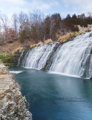 DSC_6090-1-2 (winterlynphotography82) Tags: waterfall long exposure water river sky clouds trees rocks forest travel