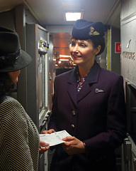 Welcome Aboard (Treflyn) Tags: passenger welcome aboard british airways concorde gbbdg brookland museum timeline events photo