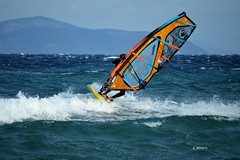 Wind Surf @ Loutsa (g_athens [swaping]) Tags: sea wind surf waves winter cold athens greece loutsa λούτσα ελλάδα αθήνα θάλασσα κύματα αέρασ χειμώνασ