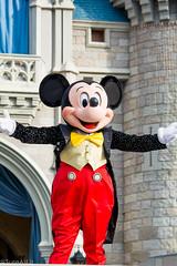DSC_0026_WS (SureAsLiz) Tags: disney disneyworld waltdisneyworld wdw magickingdom magickingdomwelcomeshow letthemagicbegin mickeymouse mickey cinderella castle