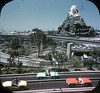 Tomorrowland Reel 2, #4b - Young and Old Drive Autopia Freeways (Tom Simpson) Tags: viewmaster slide vintage disney disneyland 1960s vintagedisney vintagedisneyland