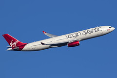 G-VRAY / Virgin Atlantic Airways / Airbus A330-343 (Charles Cunliffe) Tags: canon7dmkii aviation londonheathrowairport egll lhr virginatlanticairways vir vs airbus a330 a330300 gvray