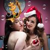 Bubble Day (mayflys_reach) Tags: valisvolkova sophiene beauty brunette christmas boxingday girl glamour olympus portrait people woman