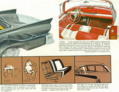 1957 Ford Fairlane 500 Sunliner Safety Features (coconv) Tags: car cars vintage auto automobile vehicles vehicle autos photo photos photograph photographs automobiles antique picture pictures image images collectible old collectors classic ads ad advertisement postcard post card postcards advertising cards magazine flyer prestige brochure dealer art illustration drawing painting 1957 ford fairlane 500 sunliner safety features 57 interior