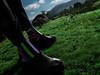 ON SOLID GROUND (MacroMarcie) Tags: macromarcie 365 project365 selfie feet hills iphone7 iphone7plus selfportrait socks